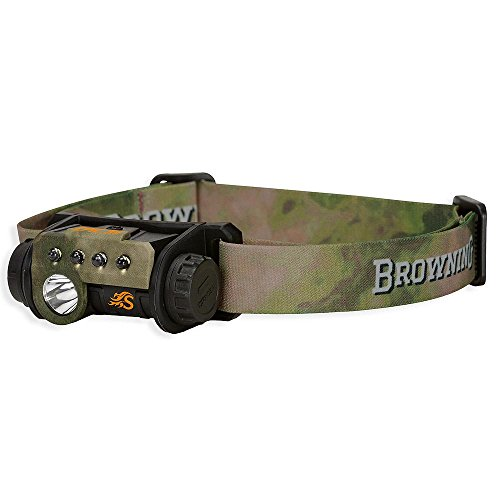 Browning Hell's Canyon Speed Epic 3V Headlamp, ATACS Foliage/Green (Browning Plates)