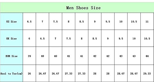 39d0aebe2 FOR U DESIGNS Cute Men s Breathable Light Weight Running Turf Sport Shoe  Soccer Cleats US 9.5  Amazon.ca  Shoes   Handbags