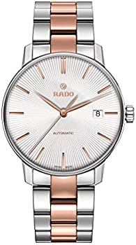 Rado Coupole Classic Automatic White Dial Two-tone Men's Watch