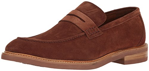 [Gordon Rush Men's Carter Penny Loafer, Tobacco, 10.5 M US] (Italian Suede Penny Loafer)