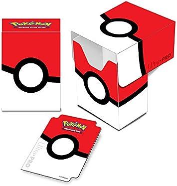 Pokèmon 14574 Ultra Pro Pokeball - Caja de Cubierta: Amazon.es: Juguetes y juegos