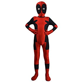- 41VilNIvALL - Danlier Kids Halloween 3D Dress Up Pretend Play Cosplay Spandex Party Full Bodysuits