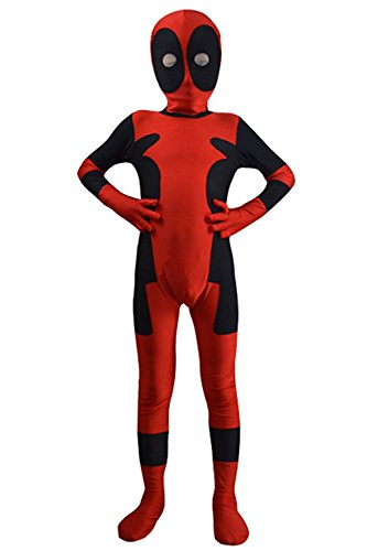 Custom Made Spandex Costumes (AOVEI Kids Cosplay 3D Costume Halloween Onesie Lycra Spandex Jumpsuits,Custom Made)