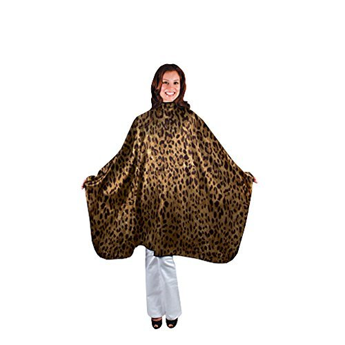 SALONCHIC Leopard Nylon Styling Cape CA-4046 by - Mall Stores Cape