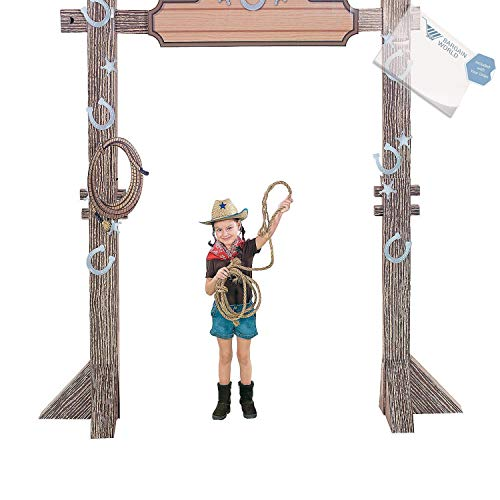 (Bargain World 3D Western Ranch Entry Arch (With Sticky)