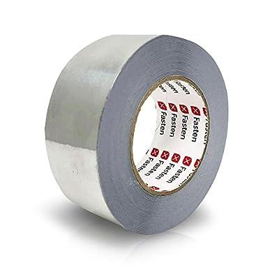 XFasten Professional Aluminum Foil Tape, 3.6 mil, 2 Inches x 55 Yards HVAC Tape