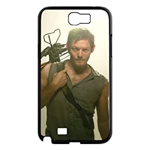 C-EUR Diy Phone Case The Walking Dead Pattern Hard Case For Samsung Galaxy Note 2 N7100