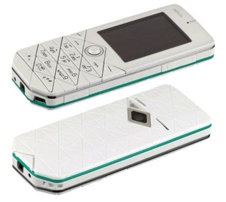 Nokia 7500 Prism White International Version Unlocked No Warranty