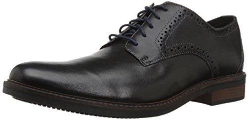Bostonian Men's Maxton Plain Oxford, Black Leather, 105 M US