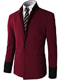 Amazon.com: Red - Sport Coats & Blazers / Suits & Sport Coats ...