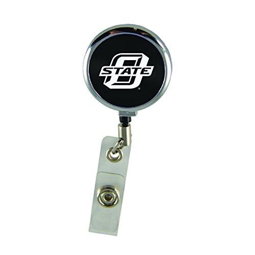 - Oklahoma State University-Retractable Badge Reel-Black