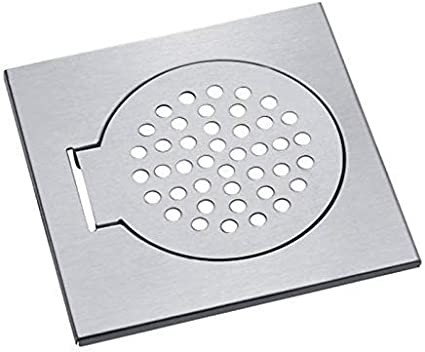 Stainless Steel Tile Linear Round Balcony Floor Outdoor Drain Strainer Covers JI