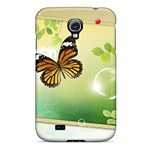 Excellent Hard Cell-phone Case For Samsung Galaxy S4 (Zbu14511ornt) Provide Private Custom HD Butterfly Pattern