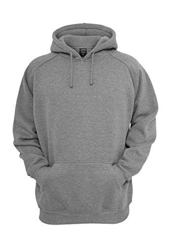 Urban Classics-Felpa con cappuccio, colore: antracite grigio Large