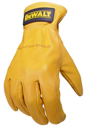 Dewalt DPG31XL Grain Goat SkinDriver Work Glove with Keystone Thumb, X-Large Dewalt Leather