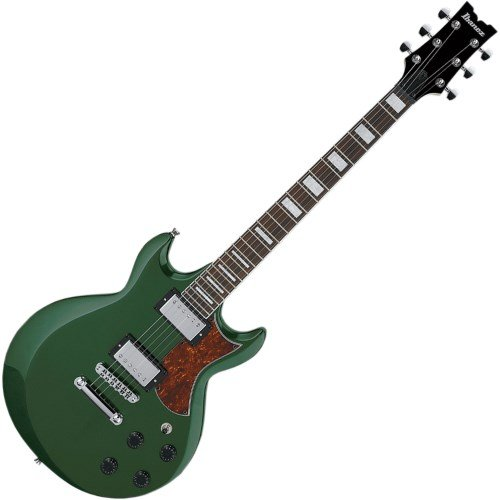 Ibanez AX 6 String Solid-Body Electric Guitar Right, Metallic Forest Full AX120MFT