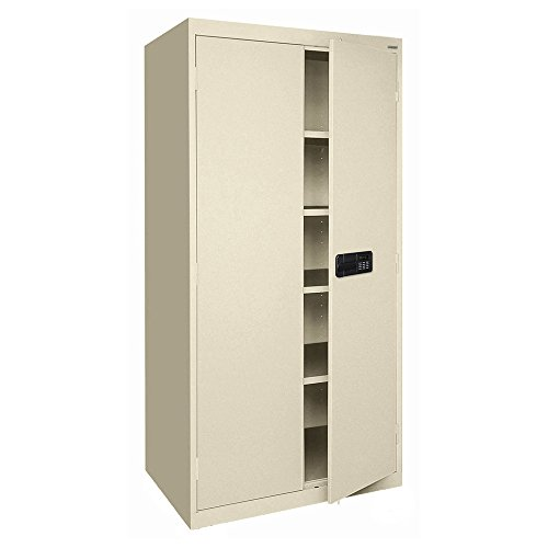 Sandusky Lee EA4E362478-07 Elite Series Keyless Electronic Welded Storage Cabinet, 36