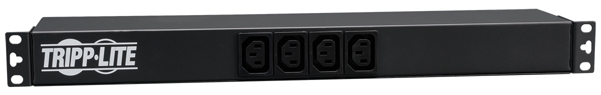 Tripp Lite Basic PDU, 16A, 14 Outlets (12 C13 & 2 C19), 100-240V, C20 Input, 1U Rack-Mount Power (PDU12IEC)