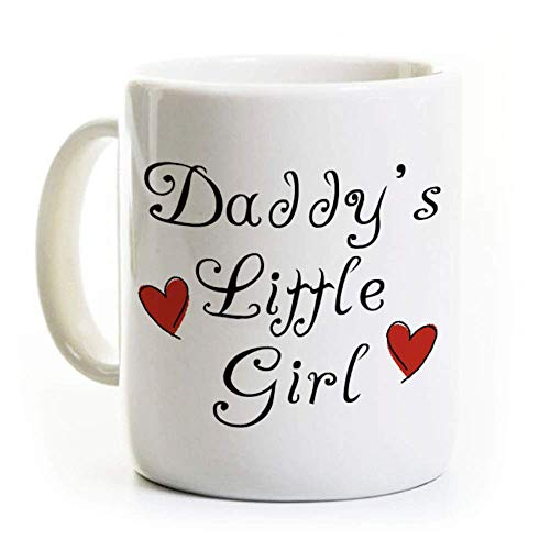 Valentines Gift for Little Girl - Coffee Mug - Daddy's Little Girl