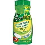 Benefiber Fiber Supplement - 722g 190 servings (Pack of 3)