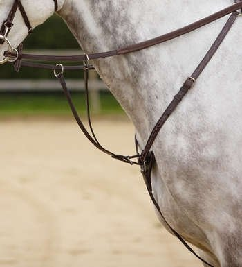 Shires 3 Point Breastplate Full Black