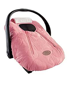 Cozy Cover - Infant Car Seat Cover (Pink Quilt)