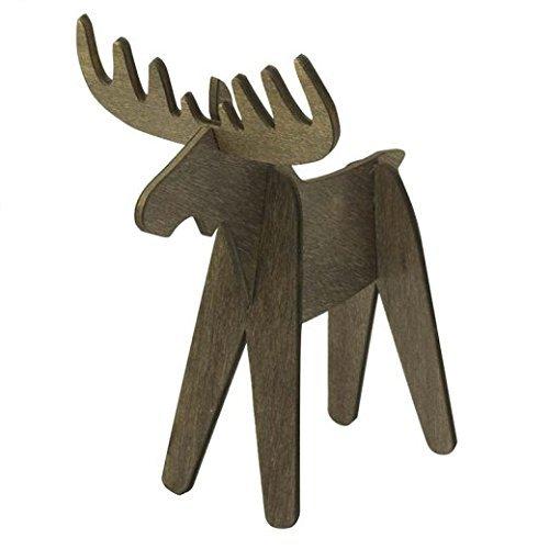 Design Ideas Alpine Moose-Set/4-Brown