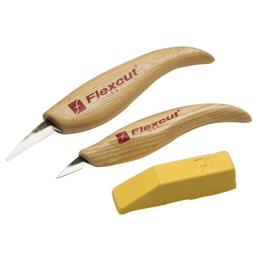 Flexcut 2-piece Whittler's Knife - Roughing Knife Flexcut