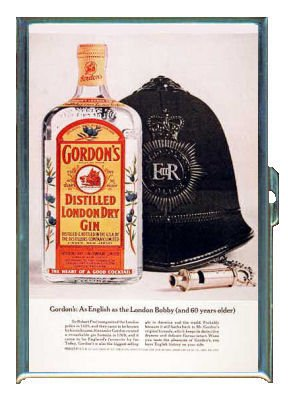 Gordons Credit Card >> Gordon S Distilled Dry Gin 2 Id Holder Wallet Or Cigarette Case