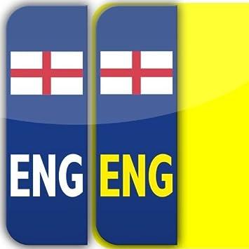 X England ENG Badge Car Number Plate Selfadhesive Vinyl - Vinyl stickers uk