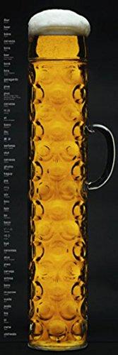 Oktoberfest Beer Stein Door Poster Print 21 x 62in