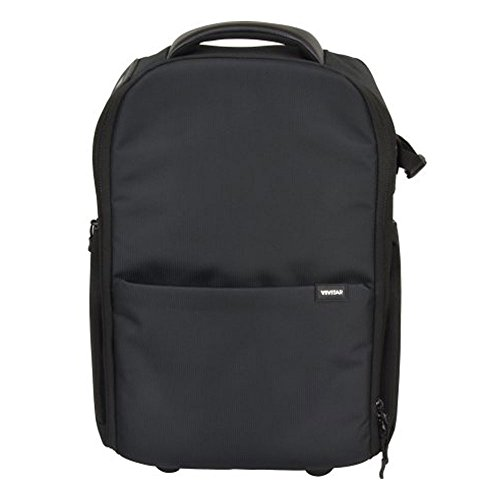 Vivitar Series 1 Trolley Large DSLR Camera Backpack Case wit