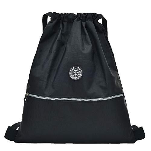 bandoulière à Tout Noir Foncé Femme GMBAB215339 Mode Nylon AgooLar Bleu Sacs fourre Sacs qFRn8a0w