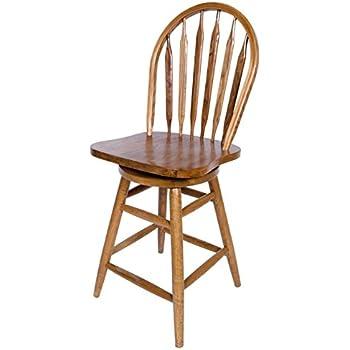 Amazon Com Winsome Wood 30 Inch Windsor Swivel Seat Bar