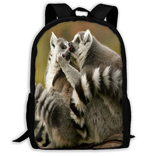 Backpack Animals in Love Mens School Backpacks Daypack Marvellous Gift