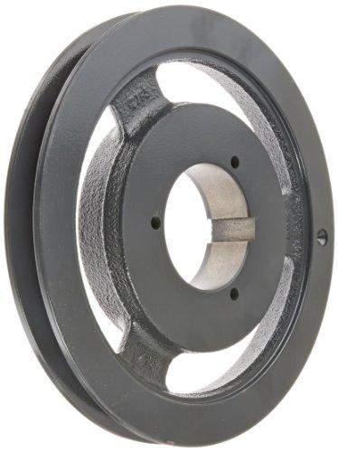 Browning 1B5V86 Split Taper Sheave, Cast Iron, 1 Groove, A, B or 5V Belt, Uses B Bushing -
