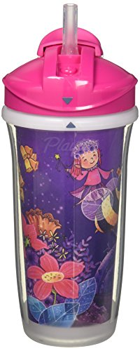 Playtex Insulator Straw Cup - Assorted Designs- 9 oz