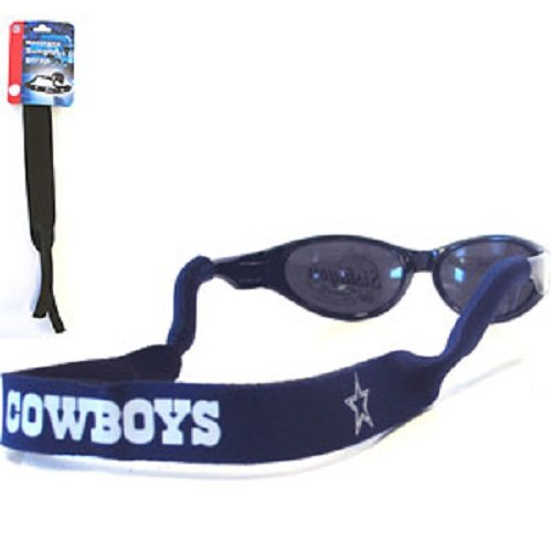 Dallas Cowboys Neoprene Strap Holder Croakies for Sunglasses or Eyeglasses Officially Licensed NFL Football Team - Dallas Eyeglasses