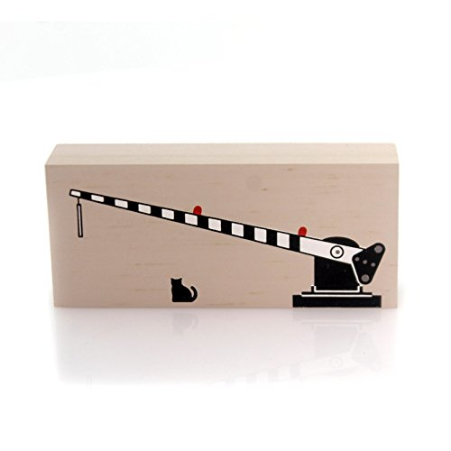 Cats Meow Village OPERATING CROSSING GATE Lionel Train Re...