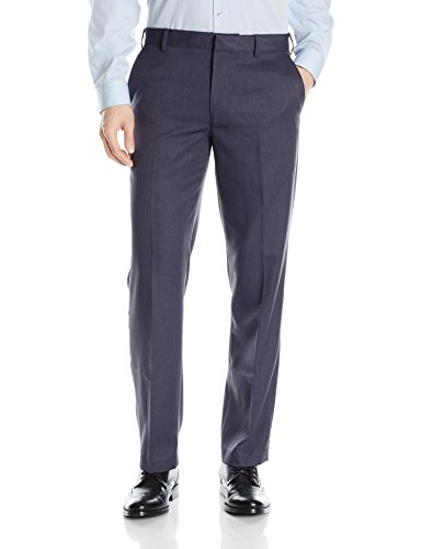 Fit Traveler (Van Heusen Men's Flat Front Ultimate Traveler Pant, Ash Navy, 38W x 32L)