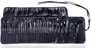 INTRODUCTION PRICE!!! Professional 32pc Makeup Artist Cosmetic Makeup / Make Up Brush Set / Kit with Professional Case By Gals- Makeup / Make Up Brushes for Eyeshadow, Concealer, Blush, Eyeliner and More...