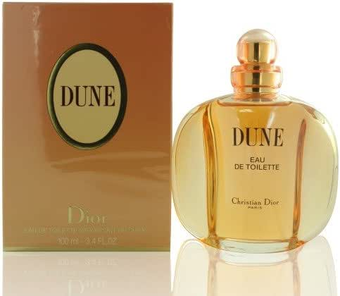 Dior Dune Eau De Toilette For Women, 3.4 Ounce