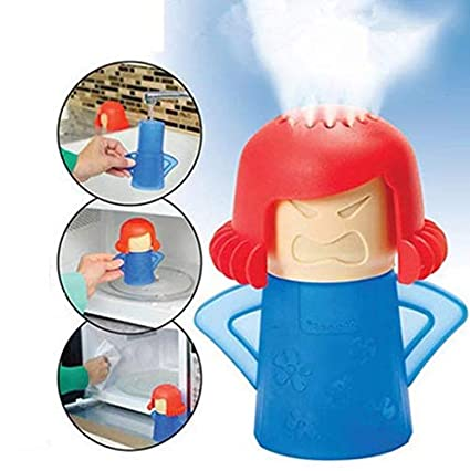 Amazon.com: Angry Mama Limpiador de microondas fácil de ...