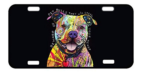 Mayers Dog's Metal License Plate for Car Tag 12