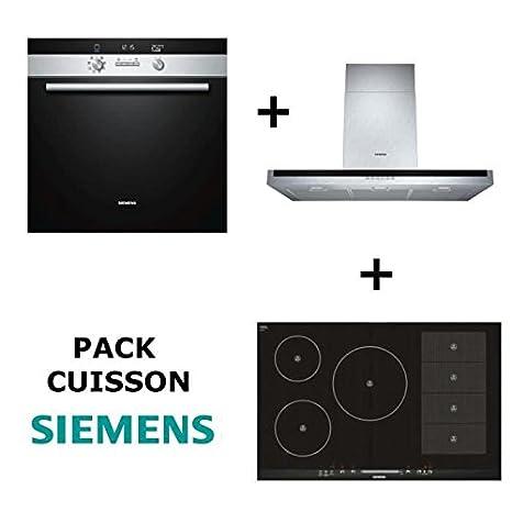 Siemens - Pack de horno: horno multifunción pyrolyse + Table de ...