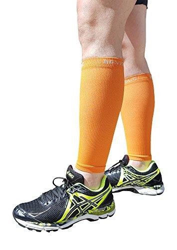 Shin Splints Compression Calf Sleeve - BeVisible Sports L...
