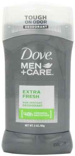 Dove Men Plus Care Non Irritant Deodorant, Extra Fresh, 3.0 Ounce (Pack of 4)