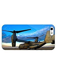 3d Full Wrap Case for iPhone 5/5s Aircraft Bell Boeing V 22