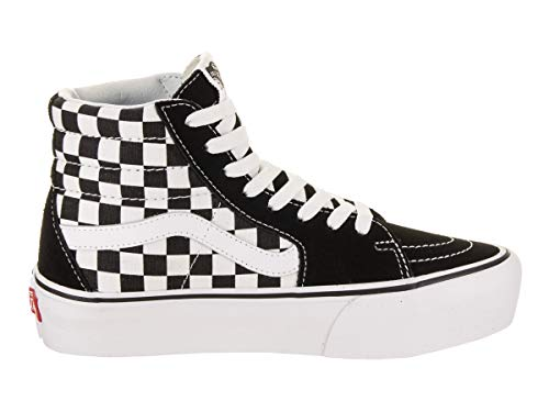 hi 2 0 Checkerboard Sk8 Vans White Platform True Black g5O1q