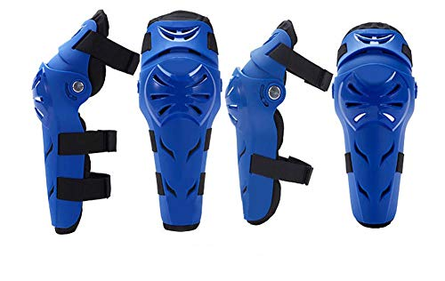 Motorcycle Knee Pads Protection MTB BMX DH Bike Cycling Elbow Drop-Resistant Been knie Elbow Protective Gear 4 stuks…